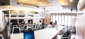 coworking space bangkok hubba thailand