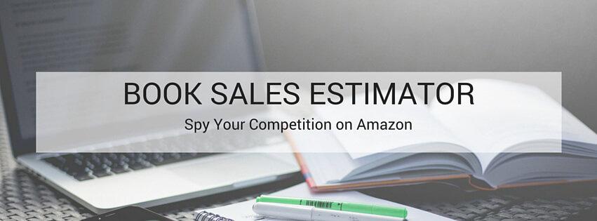 book sales estimator