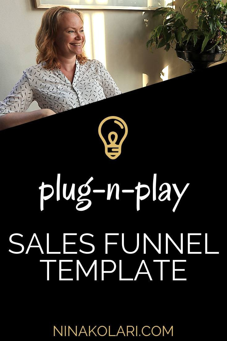Sales Funnels are the most important part of your online coaching business. Implementing a sales funnel does not need to be hard, use a funnel template.