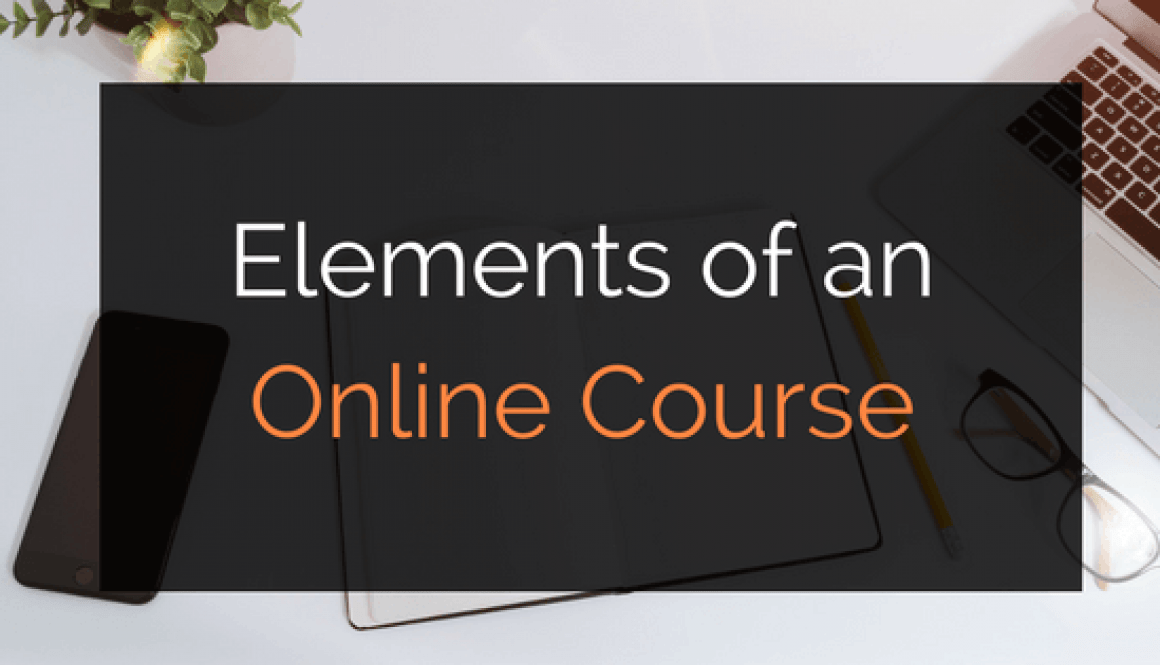 online course elements