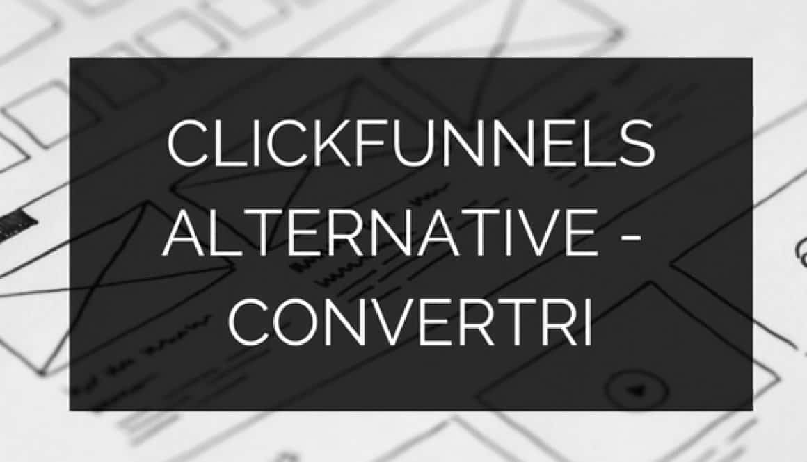 CLICKFUNNELS ALTERNATIVE