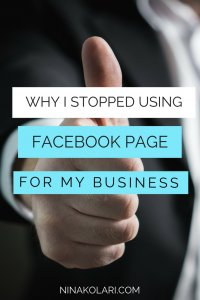 Why I Stopped Using Facebook for Business