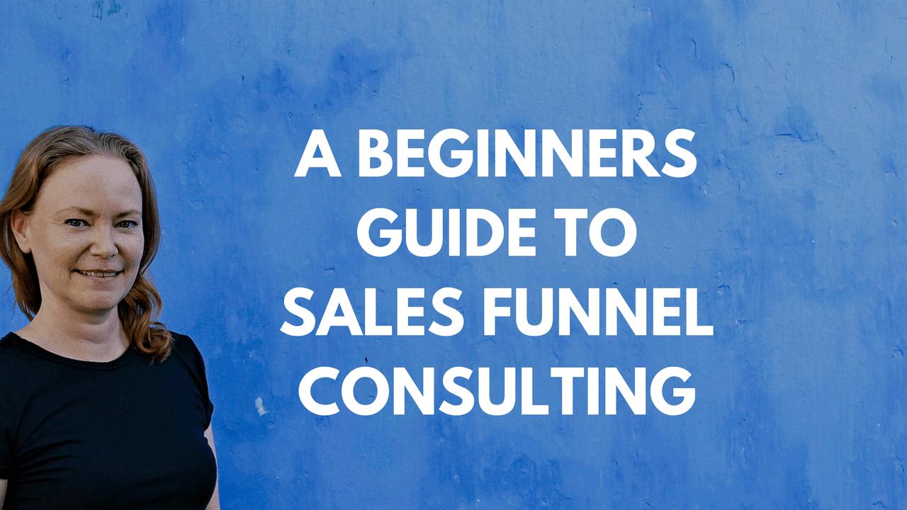 sales funnel consultant