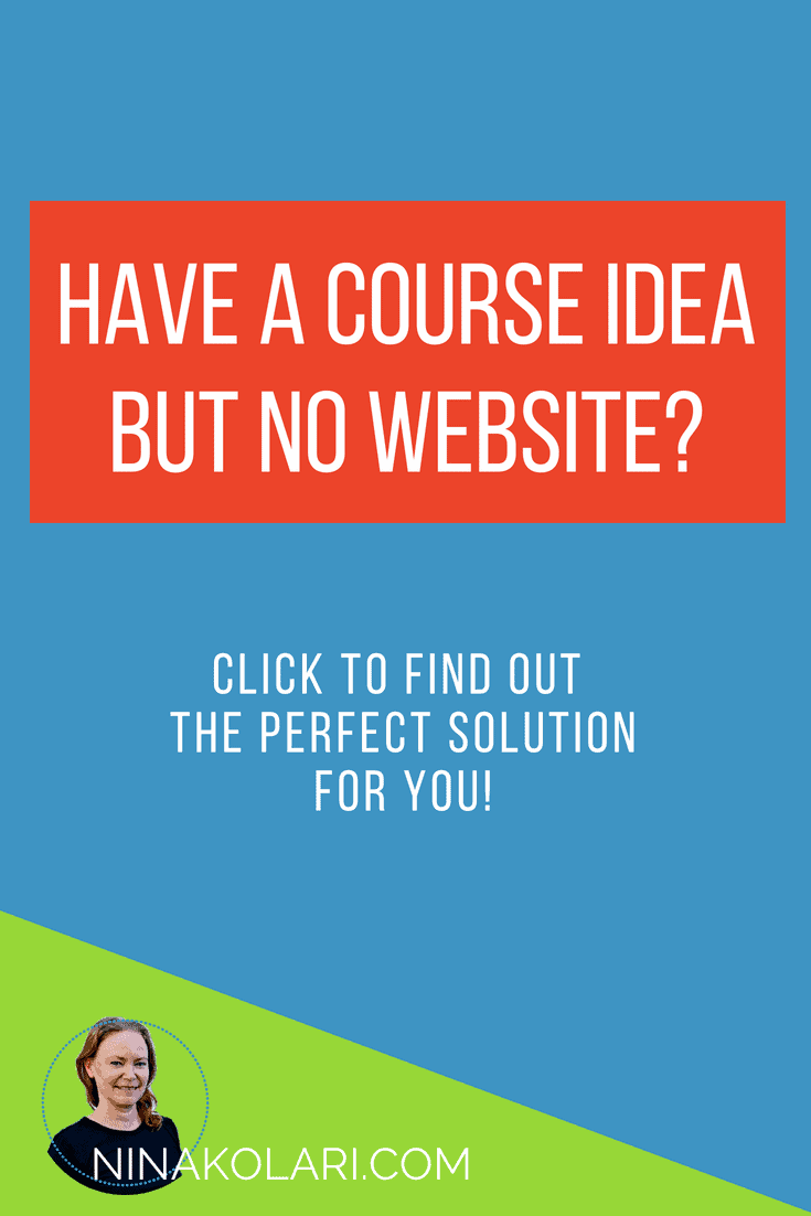 How to create complete online course website in hours. Read my Thinkific Site Builder review.