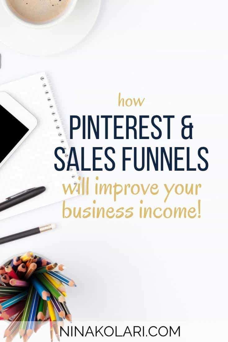 Pinterest Sales Funnel is the perfect way to get more reach, leads and sales. Read how simple it is! #pinteresttips #pinterestmarketing