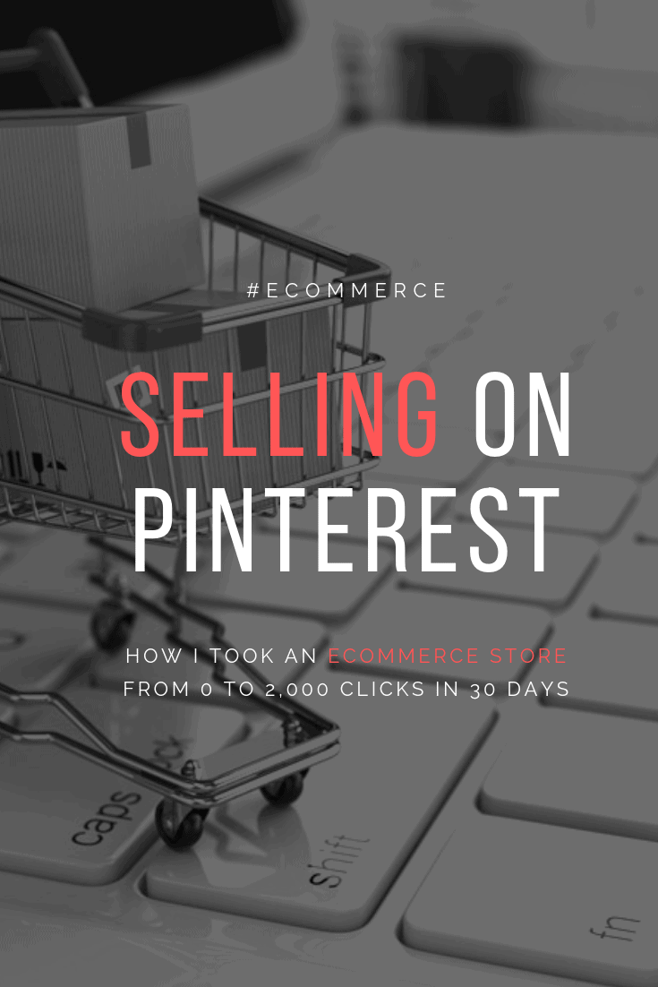 Go from zero organic traffic to whopping 2,000 website VISITORS in just 30 DAYS! This is why Selling on Pinterest can be easy for ecommerce stores. #pinterestmarketing #ecomsuccess #ecommerce