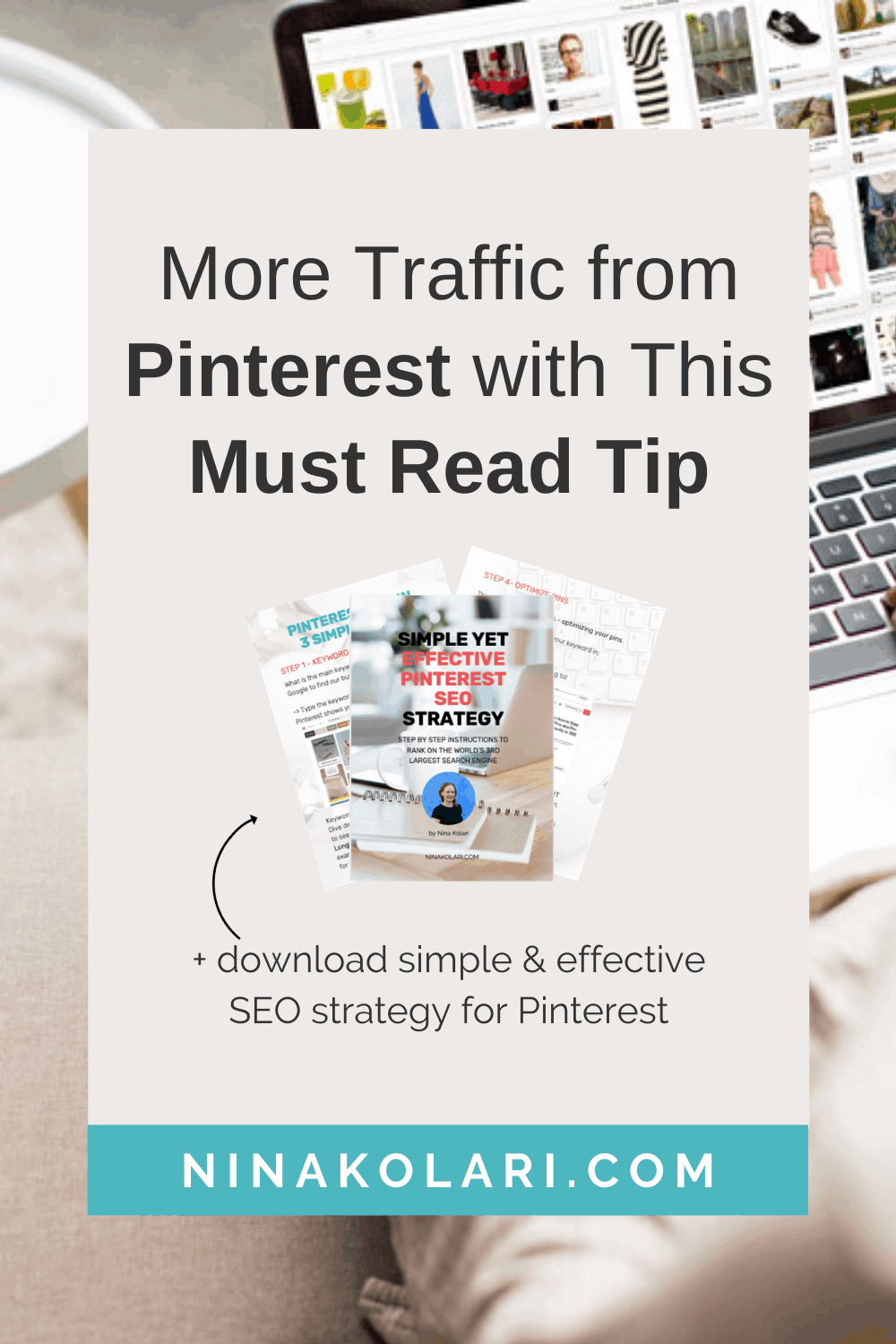 #1 Pinterest marketing Strategy | Simple yet very powerful way to increase traffic from Pinterest. This tip allows Pinterest to rank you higher on the results as they know more about the pin you just posted - this will increase your rankings - guaranteed! Check out also other Pinterest marketing tips for bloggers, for beginners, for business and entrepreneurs - I share ideas, strategies and more. #pinterestmarketing #socialmediamarketing #pinteresttips