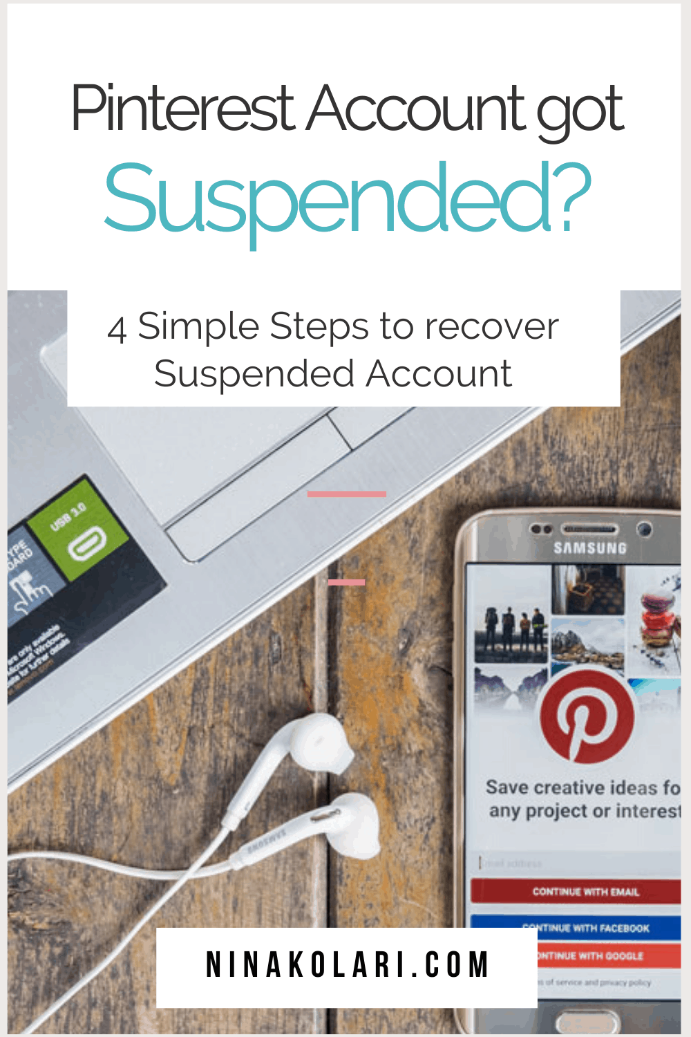Got your Pinterest account suspended? Here's what you should do next. Follow few simple steps to recover your suspended Pinterest account back. Also learn why you might have been suspended so you know what to avoid going forward. You might also be suspended because of a bug so you might not even done anything wrong. #pinterestmarketing #pinterestaccount #suspended